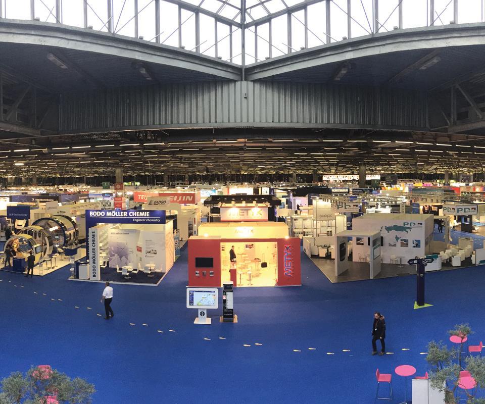 JEC World 2017 at the Paris Nord Villepinte Exhibition Center