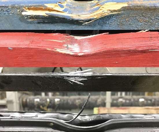 lead board on an ICP pallet
