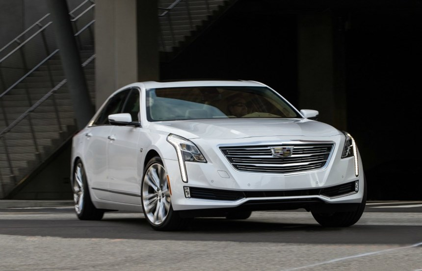 The 2016 Cadillac CT6, the flagship product for the brand.