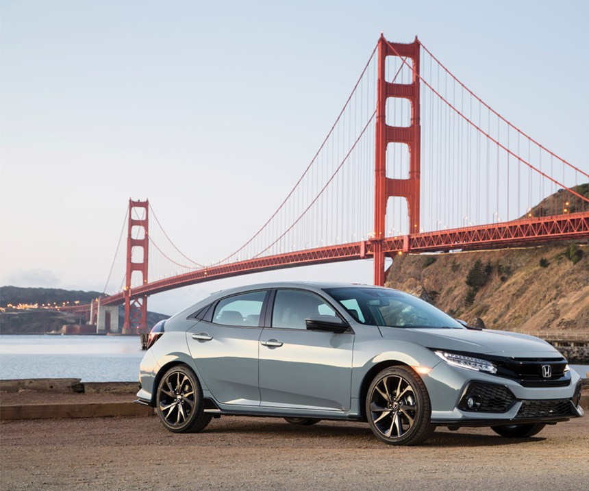 This is the third body style for the Civic, with the Sedan and the Coupe being launched first, and now the Hatch. The vehicle is produced in a Honda plant in the United Kingdom.