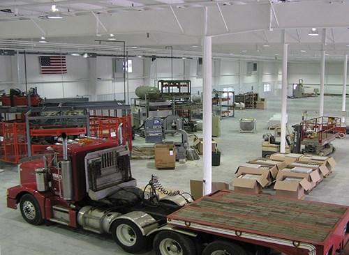 Las máquinas fueron trasladadas a la nueva planta de forma gradual.