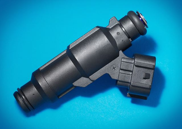 overmolded polyamide heated tip fuel injector