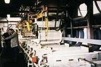 NKT's 11-barrel station plating line.