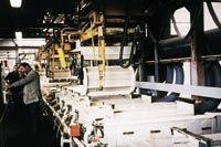 NKT's 11-barrel station plating line.