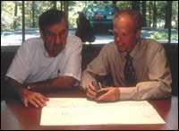Donnie Eliot and Doug Salkewicz