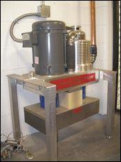 Fleet's floor-mounted Can-Am turbine HVLP system