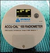 Radiometer Monitors UV Curing