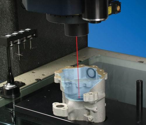 TeleStar TLL laser system on OGP's SmartScope Quest Model 300