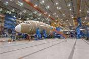 Dreamliner passenger aircraft