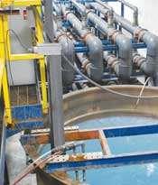 Duplex microfiltration setup