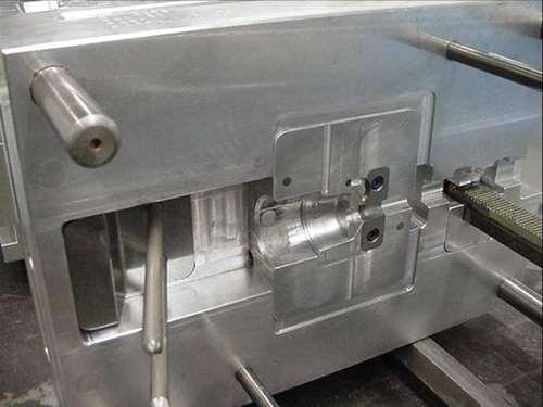 One cavity aluminum/P-20 prototype
