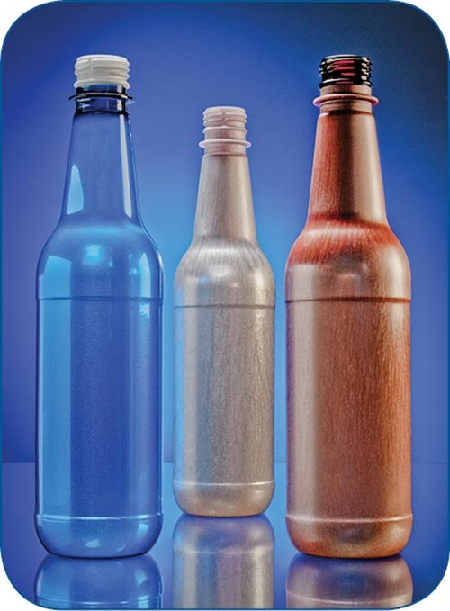 PET foam bottles for beer from Plastic Technologies, Inc., use Trexel's MuCell technology.