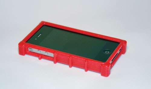3-D printed phone cover
