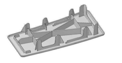 CAD plenum cover