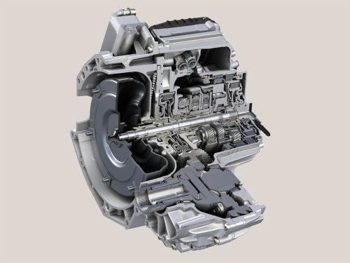 ZF nine-speed transmission