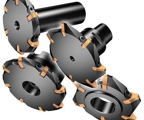 Different disc cutter styles are available for various spline applications and different spindle interfaces.