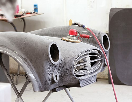additive manufacturing can you print a car compositesworld. Black Bedroom Furniture Sets. Home Design Ideas