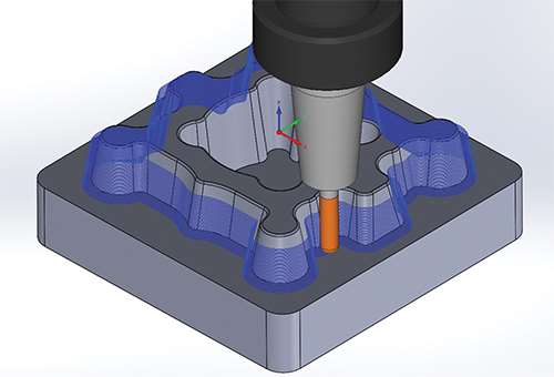 3 axis tool path