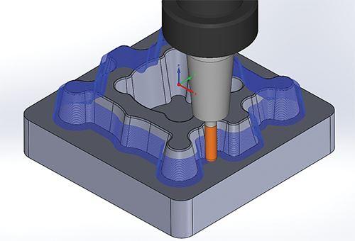 3 axis tool path