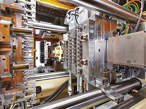 Máquina híbrida HyPET de 300 toneladas