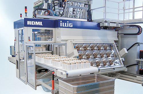 Máquina formadora automática IC-RDKP 72 de Illig