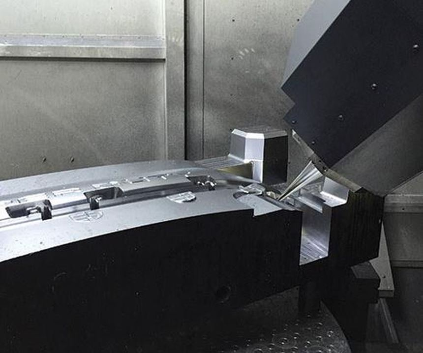 DMU 210 P five axis CNC machine