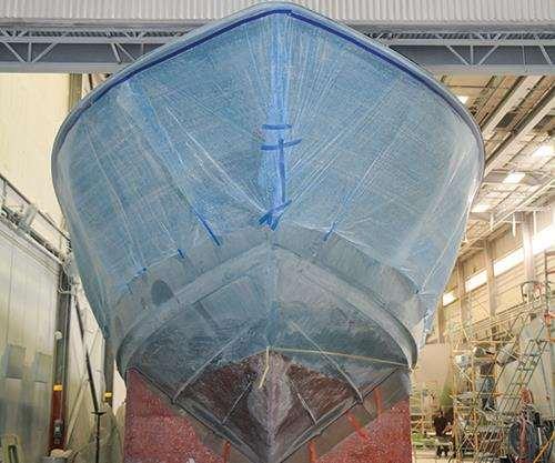 Viking 80C hull
