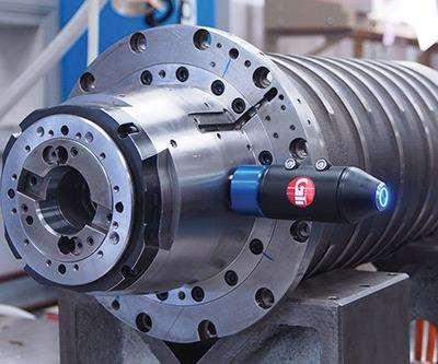 Kessler spindle with GTI-220 accelerometer