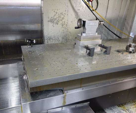 clamping holes