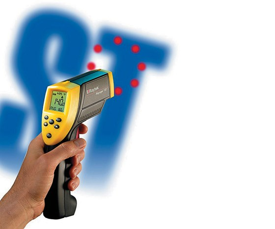 Raytek infrared thermometer