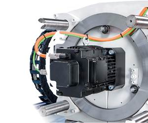 injection molding machine servo drive