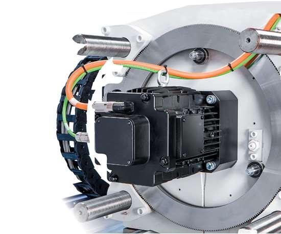 injection molding machine servo drive
