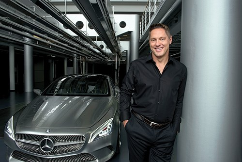 Gorden Wagener, head of Design, Daimler AG, strives to create designs that respect the past, drive the future and have a look that's iconic.