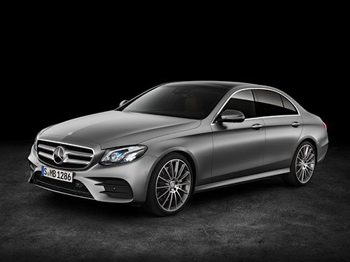 "The new Mercedes E-Class, the 10th generation of the model. It is the latest iteration of the ""Sensual Purity"" approach to design."