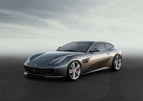 "The Ferrari GTC4Lusso is described as being a car for those ""wanting to experience the pleasure of driving a Ferrari anywhere, anytime, be it on short spins or long journeys, snowy mountain roads or city streets, alone or in the company of three lucky passengers."""