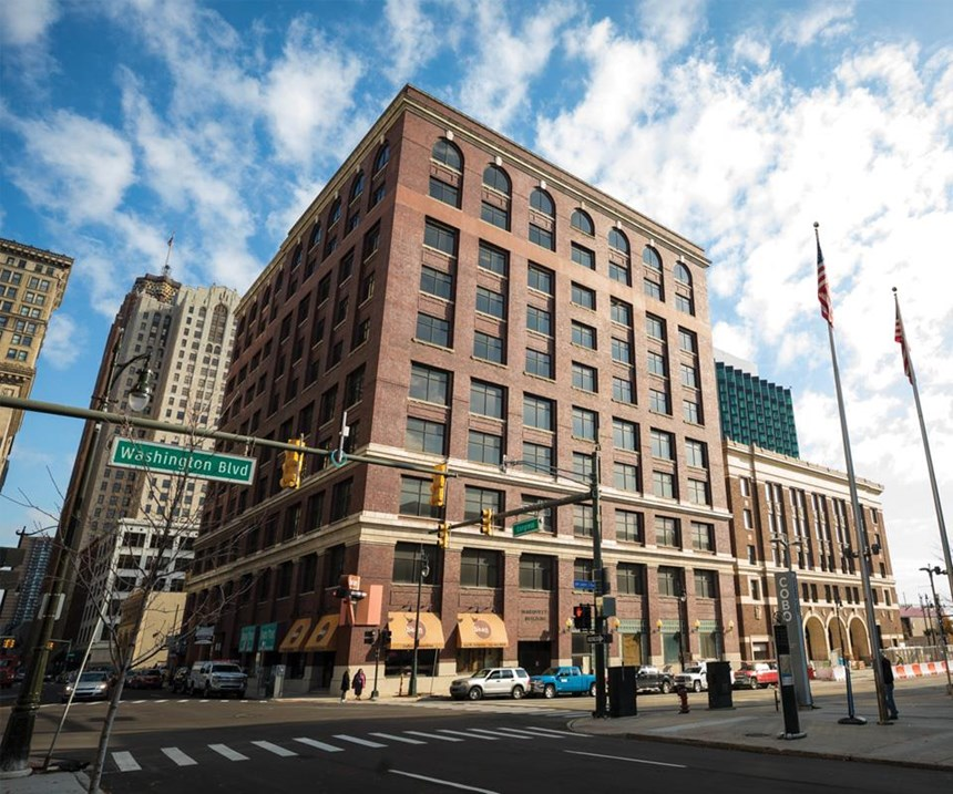 Within a month of its separation from Johnson Controls International and becoming its own company in the fall of 2016, Adient acquired the 10-story Marquette Building in downtown Detroit to create its new global headquarters.