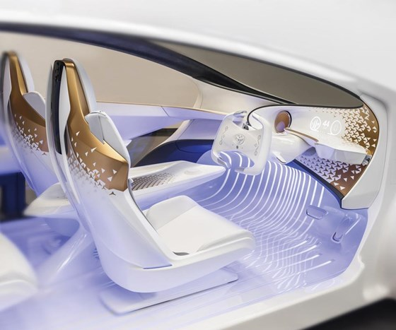 The Toyota Concept-i: Driving 2030 : Automotive Design