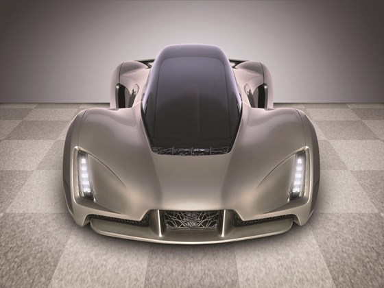 Divergent 3D has developed the Blade, a proof of concept in customized printing.  Yes, much of this car is 3D printed. It raised $23 million in venture capital to commercialize its platform