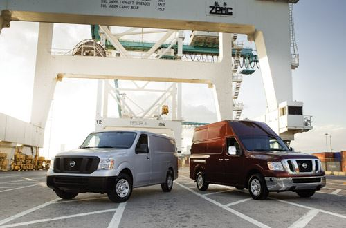 Developing the Nissan NV image