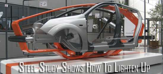 Steel Study Shows How To Lighten Up