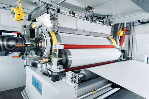 Extrusion New Cast Film Amp Sheet Lines Plastics Technology