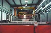 Nickel chromium plating line