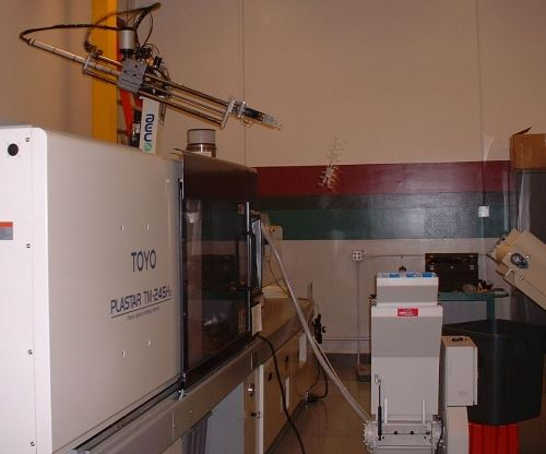 injection molding machines (IMMs)