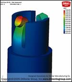 Engineers can use integrated finite element analysis (FEA) software