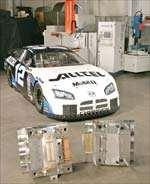 The #12 Alltel Dodge Charger