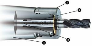 Holder features simple external design