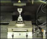 tooling balls to set the machine