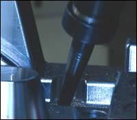 Automatic toolholder collision