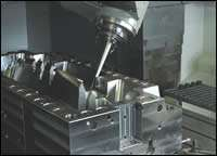 Simultaneous five-axis cutter