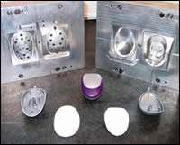 A 1+1 aluminum mold